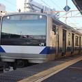 常磐線 E531系K407編成 323M 普通 高萩 行 2021.01.14 (1)