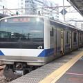Photos: 常磐線 E531系K405編成 323M 普通 高萩 行 2021.01.15