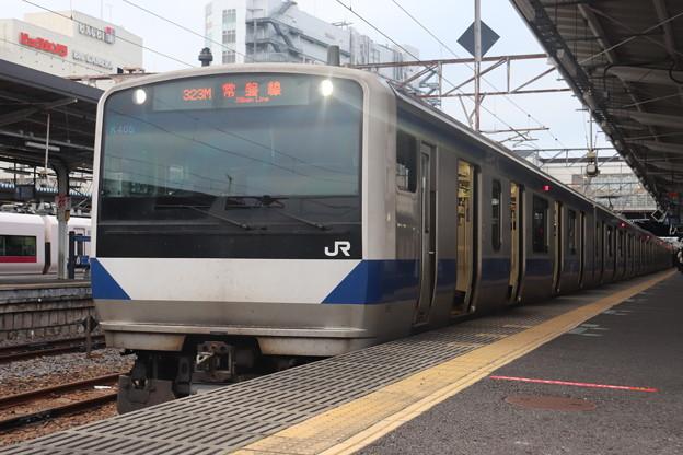 常磐線 E531系K405編成 323M 普通 高萩 行 2021.01.15 (1)