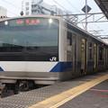 Photos: 常磐線 E531系K405編成 323M 普通 高萩 行 2021.01.15 (1)