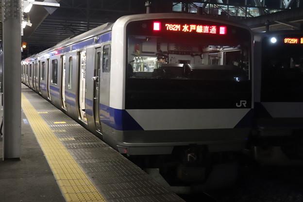 水戸線 E531系K462編成 762M 普通 小山 行 2021.01.15