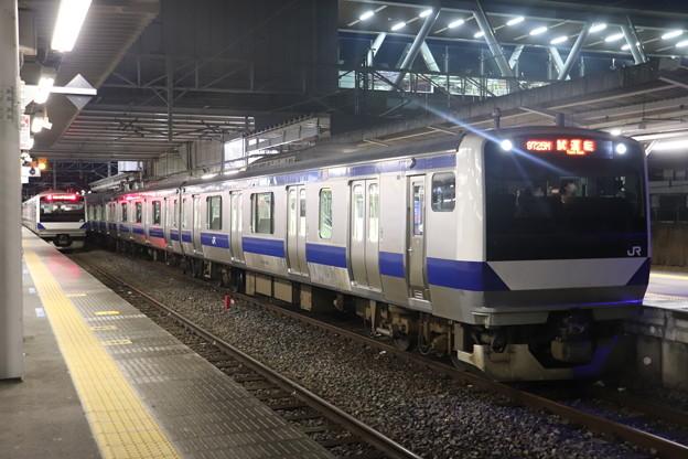 水戸線 E531系3000番台K551編成 試9725M ワンマン試運転