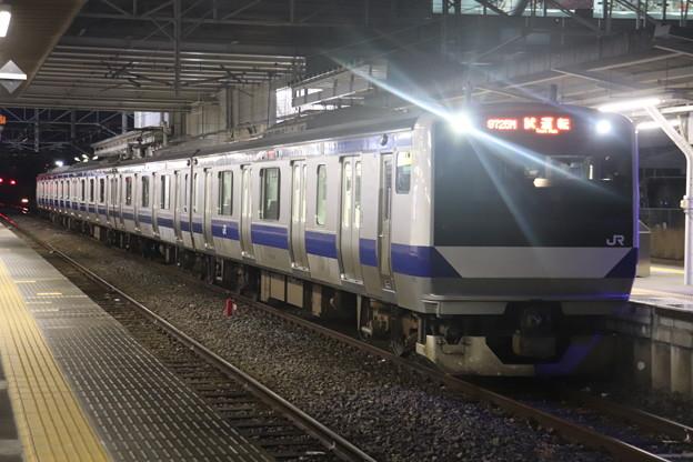 水戸線 E531系3000番台K551編成 試9725M ワンマン試運転 2021.01.15 (3)