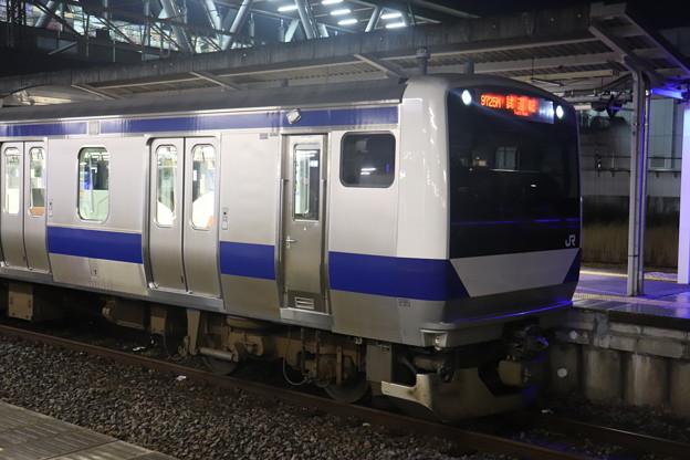 E531系3000番台K551編成 ワンマン試運転