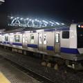 水戸線 E531系3000番台K551編成 試9725M ワンマン試運転 友部駅発車 2021.01.15