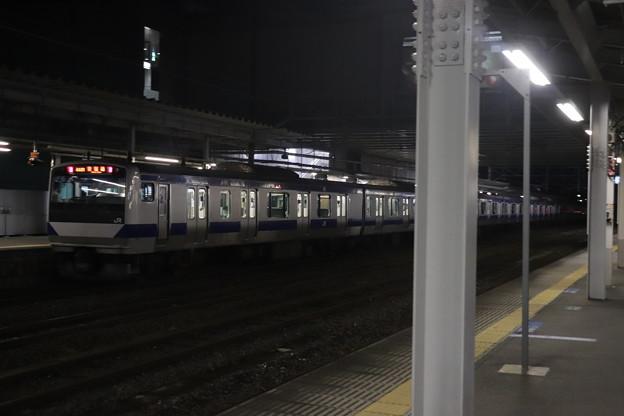 常磐線 E531系 444M 普通 上野 行 友部駅発車 2021.01.15