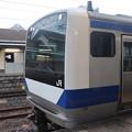 常磐線 E531系K414編成 323M 普通 高萩 行 2021.01.12