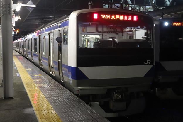 水戸線 E531系K457編成 762M 普通 小山 行 後追い 2021.01.12