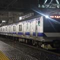 Photos: 水戸線 E531系3000番台K551編成 試9725M ワンマン試運転 2021.01.12 (4)