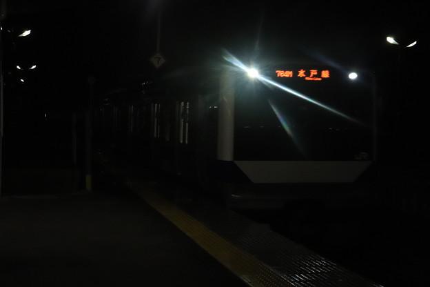 水戸線 E531系 757M 普通 友部 行 2021.01.12