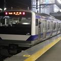 水戸線 E531系3000番台K554編成 757M 普通 友部 行 2021.01.12