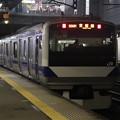 常磐線 E531系K416編成 399M 普通 勝田 行 2021.01.12