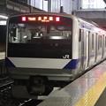 水戸線 E531系3000番台K554編成 764M 普通 小山 行 2021.01.12