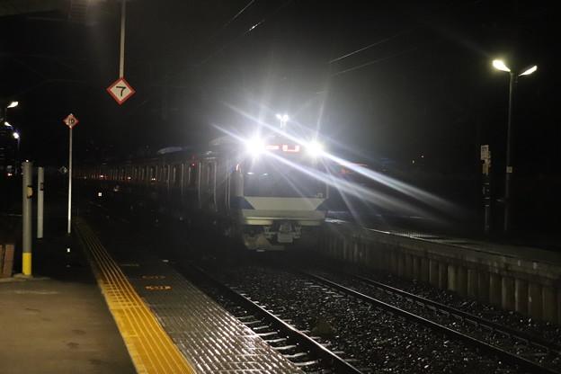 水戸線 E531系K412編成 回8725M KY出場回送 2021.01.12 (2)