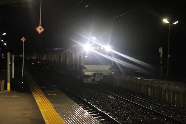 水戸線 E531系K412編成 回8725M KY出場回送 2021.01.12 (3)