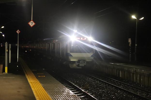 水戸線 E531系K412編成 回8725M KY出場回送 2021.01.12 (4)