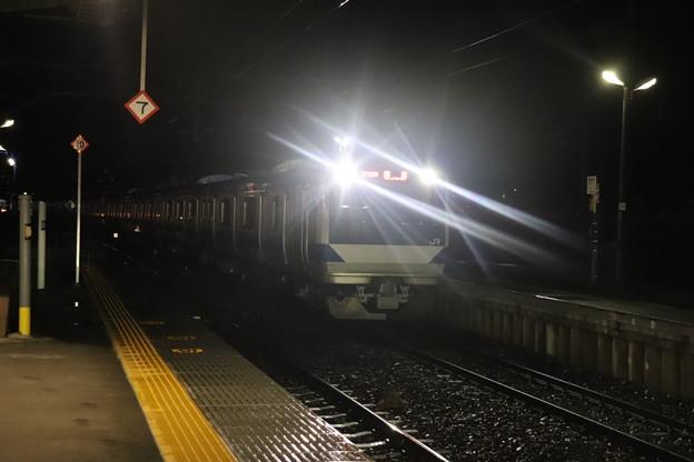 水戸線 E531系K412編成 回8725M KY出場回送 2021.01.12 (5)