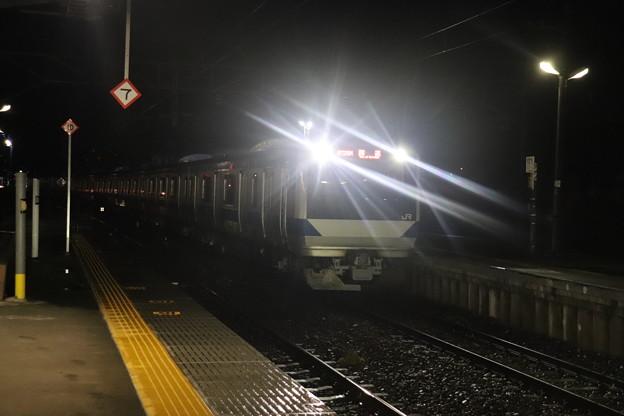 水戸線 E531系K412編成 回8725M KY出場回送 2021.01.12 (6)