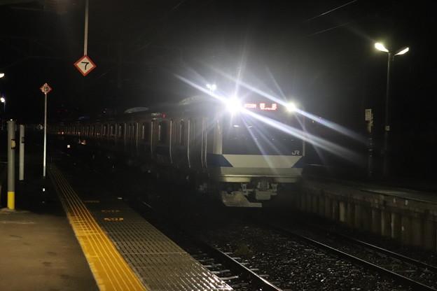 水戸線 E531系K412編成 回8725M KY出場回送 2021.01.12 (7)