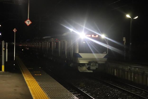 水戸線 E531系K412編成 回8725M KY出場回送 2021.01.12 (8)