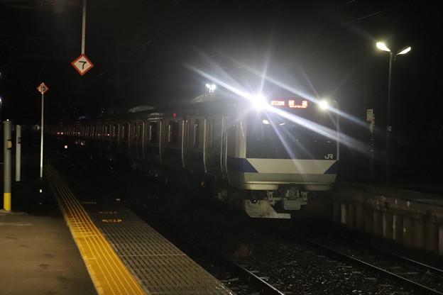 水戸線 E531系K412編成 回8725M KY出場回送 2021.01.12 (9)
