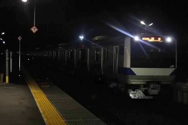 水戸線 E531系K412編成 回8725M KY出場回送 2021.01.12 (10)