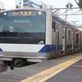常磐線 E531系K426編成 323M 普通 高萩 行 2021.02.01 (1)