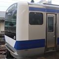 常磐線 E531系K402編成「笠間の栗」ラッピング 323M 普通 高萩 行 2021.02.02