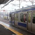 Photos: 常磐線 E531系「笠間の栗」ラッピング 2021.02.02