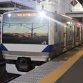 Photos: 水戸線 E531系3000番台K551編成 762M 普通 小山 行 2021.02.02