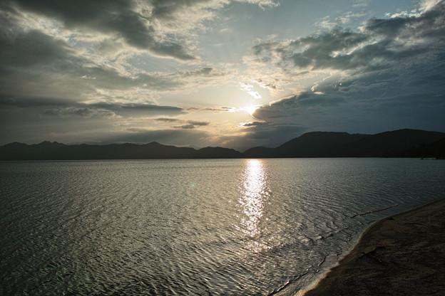 12.田沢湖の夕日 その2