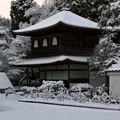 32.雪景色の観音堂 その1