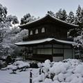 33.雪景色の観音堂 その2