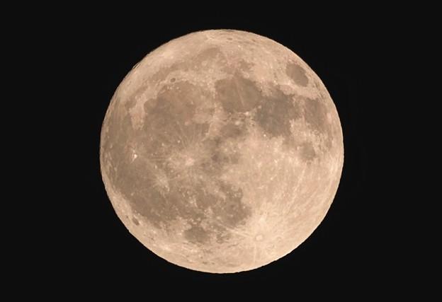 09.300(450)mmでの満月撮影 & 大トリミング その4