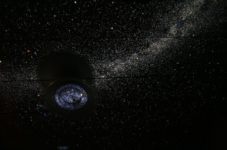 HOMESTAR PROの星空投影例
