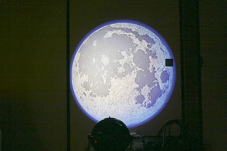 HOMESTAR PROの「月」投影例