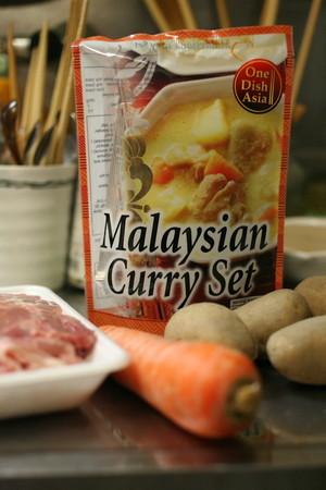 マレーシアカレーを作ります