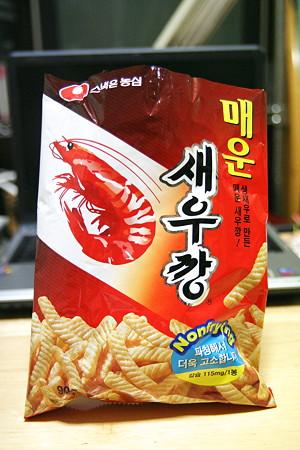 韓国のえびせん