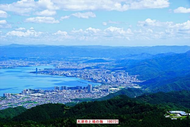 叡山山頂から