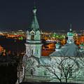 夜景 ハリストス正教会