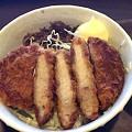 豚カツ牛丼
