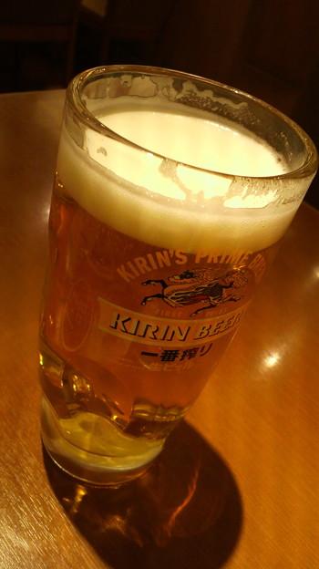 写真: 生ビール