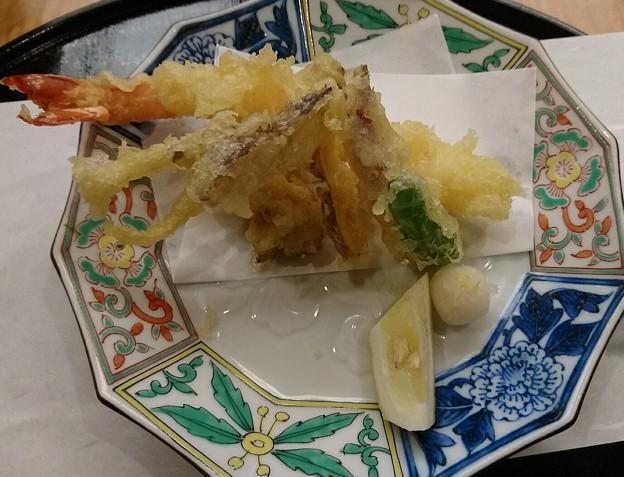 松茸と大海老の天ぷら 松茸御膳
