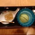 和三盆わらび&抹茶アイス