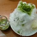 Photos: 綿雪かき氷ふわふわジャパニーズ 宇治抹茶/あずき/バニラアイス
