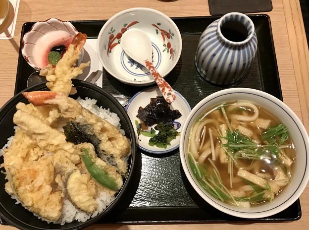 Photos: 天丼うどんセット