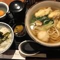 Photos: 牡蠣天おろしうどん/卵かけご飯