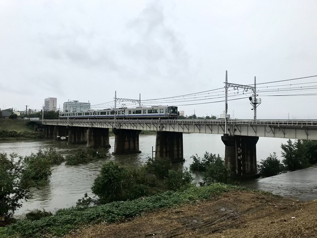 大和川橋梁(JR西日本阪和線)