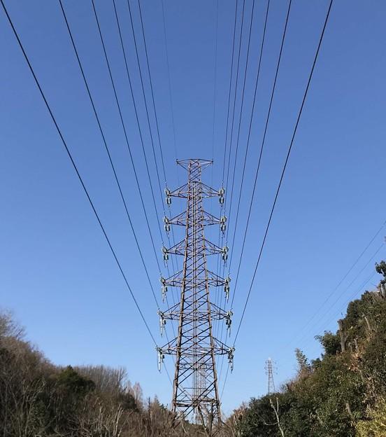 高圧電線鉄塔  大阪/吹田・山田西