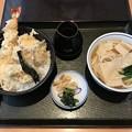 Photos: 牡蠣と海老の天丼